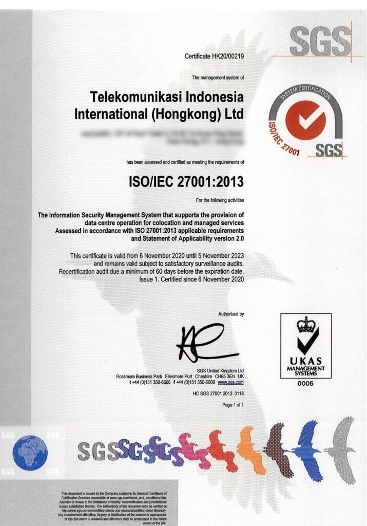 neuCentrIX ISO 27001 Cert