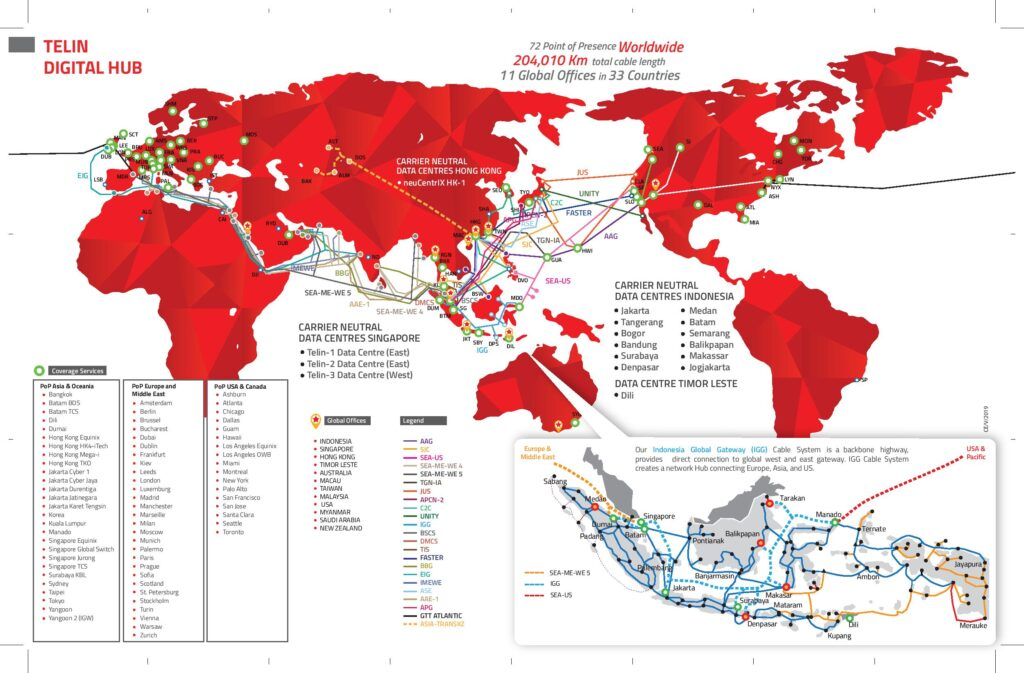 Global Connectivity Submarine Cable SJC AAG